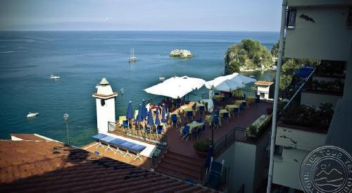 Sicilija: BAY PALACE (TAORMINA MARE) 4*, gegužės 10,17, 24, 31. 7 n. nuo 512 EUR