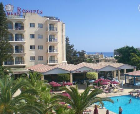 Kipras: CROWN RESORTS ELAMARIS 3*,  gegužės 17, 24, 31 d. skrydžiams 7 n. nuo 302,00 EUR