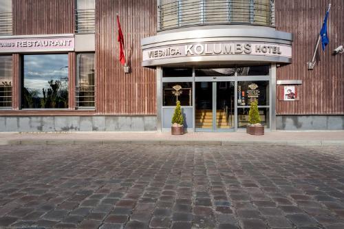 Liepoja: HOTEL KOLUMBS 4*,  2 nakvynės nuo 35,50 EUR
